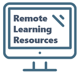remote learning resources quick link graphic